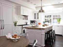 White Modern Rustic Kitchen