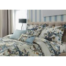 tribeca living casablanca 5 piece cotton sateen fl oversized duvet cover set