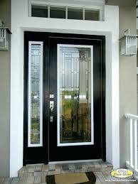 black front door half glass modern doors with ideas contemporary house entrance design