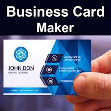 Business Card Maker Visiting Card Maker Photo Logo Pro V5 5