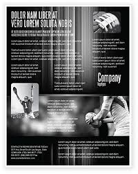 Rugby Football Flyer Template, Background In Microsoft Word ...