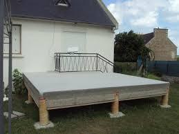 Bien Terrasse En Bois Ou Carrelage 5 Terrasse Beton Sur Pilotis