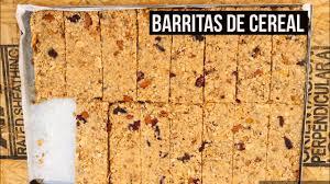 Barritas De Cereal Caseras Light Barritas De Cereal Caseras Y Saludables Sin Horno