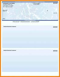 Blank Cheque Template Custom Business Check Template Excel Google Invoice Templates Free For