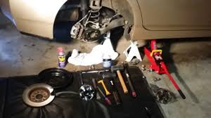 Toyota Prius (3rd Gen) Rear Wheel Bearings, Pads, Rotor ...