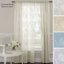 frosting sheer curtain panel 52 x 84 to expand