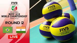 BRA vs. IND - Full Match   Eightfinals   Boys U19 World Champs 2021 -  YouTube