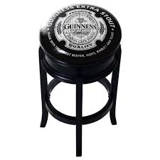 guinness bar stool. Wonderful Guinness Shop Guinness Wood Swivel Bar Stool  On Sale Free Shipping Today  Overstockcom 16373806 Intended A