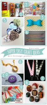 Easy Things To Make My 3 Monsters 10 Super Easy Craft Ideasto Make With Teenage Girls