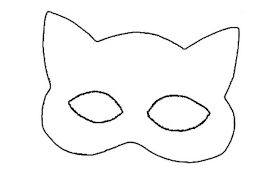 Small Picture How to craft catwoman mask Hellokidscom