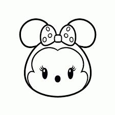 Niewu Minnie Mouse Kleurplaat Hoofd Kleurplaat 2019