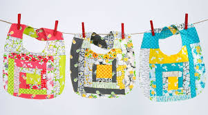 Quilted Jelly Roll Baby Bibs by Ashley Nickels - Creativebug & Quilted Jelly Roll Baby Bibs Adamdwight.com