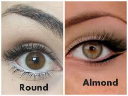 round vs almond eyes