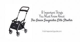the graco snugrider elite stroller 8