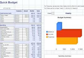 Weekly Budget Template Google Docs Monthly Budget Template Google