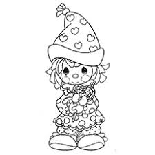 Clown Coloring Pages For Adults Attractive Top 10 Free Printable
