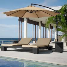 heavy duty patio umbrellas in trendy guide weighing down an offset cantilever umbrella outsidemodern