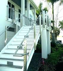 post outdoor stair railing ideas diy railings beautiful interesting exterior