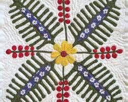 Fern berry quilt | Etsy