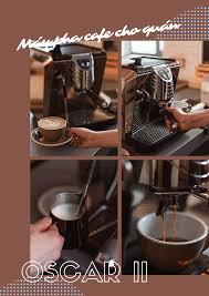 Gợi ý bộ máy xay cafe, máy pha cafe cho quán vừa và nhỏ - Vinbarista.com
