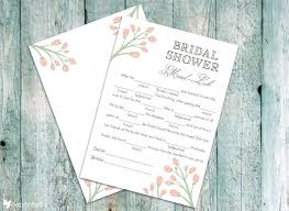 Free Bridal Shower Invitation Templates For Word Cool CoPrinted Blog