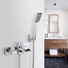 Bonade Badewannenarmatur Duschsysteme Chrom Badewanne