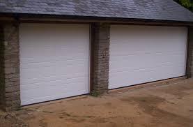3 triple garage doors with georgian sectionals