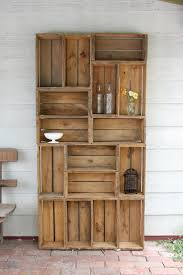 apple crate bookshelf love the configuration would look neat in solid walnut apple crate bookshelf love the configuration