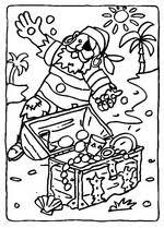 Kids N Fun 31 Kleurplaten Van Piraten