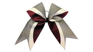 Cheer Bow Designs Diy Kick Swish Glitter Vinyl Cheer Bow With Cheer Bow Supply Silhouette Templates