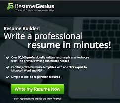 Resume genius reviews