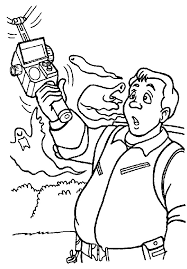 Small Picture the real ghostbusters coloring pages ghostbusters coloring page 1