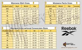 Reebok Nano Size Chart Reebok Nano 5 Size Guide