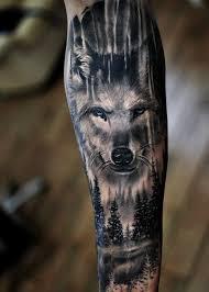 Pin By Jan Skarda On Tetování Tetování Vlka Tetování Zvířat