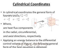 21 cylindrical coordinates