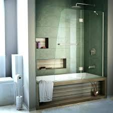 bathtub doors marvellous half glass shower door for medium size of panel bathtubs at home de