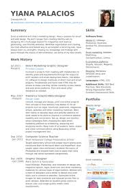 Graphic Web Designer Resume Samples Visualcv Resume Samples Database