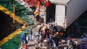 South Africa violence: A jailed former ...