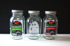 nicely shaped glass jars my test subjects for the best and easiest way to completely