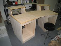 woodworking design build desk plans decoration computer it yourself diy table pipe your a