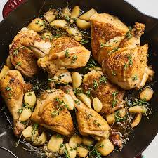 Chicken With 40 Cloves Of Garlic Cooking Light Alton Browns 40 Clove Chicken Recipe Review Kitchn