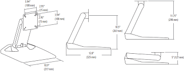 Ergotron Neo Flex Display Stand Enchanting Ergotron 323232 NeoFlex Touchscreen Monitor Stand