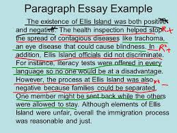 paragraph essay format ppt paragraph essay example