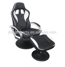 office recliners. workwell racing recliner with ottoman office chair car gaming recliners