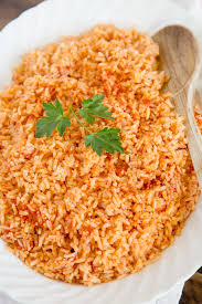 traditional mexican foods. Modren Foods Authentic Mexican Rice On A Platter On Traditional Foods T
