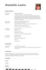 Resume Resident Assistant Sample Cover Letter Doc Advisor Job