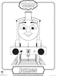 Colouring Pages Of James In Thomas
