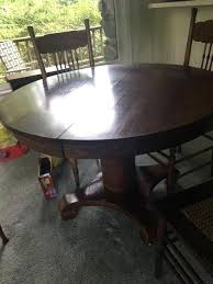 antique table and chairs old round table antique cut to make coffee table antique oak clawfoot table and chairs