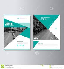 Green Layouts Green Vector Magazine Annual Report Leaflet Brochure Flyer