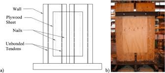 seismic resilience of plywood coupled